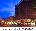 syracuse  new york  usa. august ... | Shutterstock . vector #1165490785