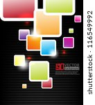 eps10 abstract vector design  ... | Shutterstock .eps vector #116549992