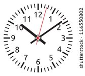 clock | Shutterstock .eps vector #116550802