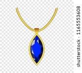 sapphire jewelry icon.... | Shutterstock . vector #1165553608
