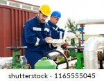 engineer power and energy using ...   Shutterstock . vector #1165555045