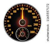 dashboard mockup. realistic... | Shutterstock . vector #1165557172