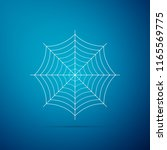 spider web icon isolated on... | Shutterstock .eps vector #1165569775