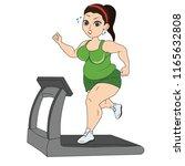 burn calorie wonderful fat sexy ... | Shutterstock .eps vector #1165632808