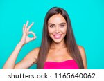 close up studio photo portrait... | Shutterstock . vector #1165640062