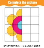 complete the picture...   Shutterstock .eps vector #1165641055