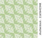 elegant green floral vector... | Shutterstock .eps vector #1165642348
