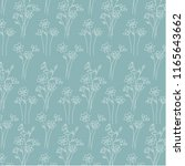 hand drawn botanical floral on... | Shutterstock .eps vector #1165643662