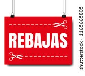 sale banner with text white...   Shutterstock .eps vector #1165665805