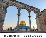 Golden Dome Of The Rock In...