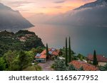Panorama Of Lake Garda ...