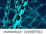 block chain concept.... | Shutterstock . vector #1165687312