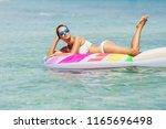 summer image of stunning...   Shutterstock . vector #1165696498