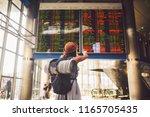 theme travel public transport....   Shutterstock . vector #1165705435