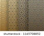 seamless set geometrics pattern.... | Shutterstock .eps vector #1165708852