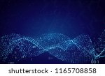 abstract futuristic technology... | Shutterstock .eps vector #1165708858