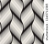 seamless pattern with geometric ... | Shutterstock .eps vector #1165711585