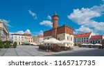 market square in tarnow  poland   Shutterstock . vector #1165717735