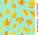 seamless pattern with colorful... | Shutterstock .eps vector #1165726945