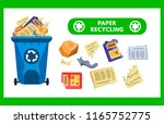 reduce  reuse  recycle waste.... | Shutterstock .eps vector #1165752775