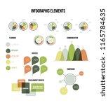 infographic elements  info... | Shutterstock .eps vector #1165784635