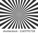 white and black ray burst style ... | Shutterstock .eps vector #1165791718