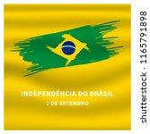 7 de setembro independencia do... | Shutterstock .eps vector #1165791898