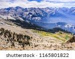 alpine landscape and view...   Shutterstock . vector #1165801822