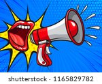 bright pop art design of red... | Shutterstock .eps vector #1165829782