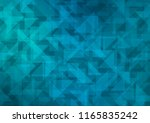 dark blue vector polygon... | Shutterstock .eps vector #1165835242