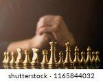 business strategy brainstorm... | Shutterstock . vector #1165844032