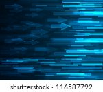 abstract arrows  background - stock photo