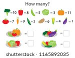 how many counting game with... | Shutterstock .eps vector #1165892035