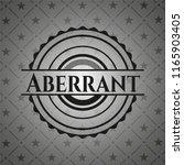 aberrant black emblem. vintage. | Shutterstock .eps vector #1165903405