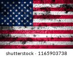 old grunge united states... | Shutterstock . vector #1165903738