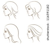 simple line illustrations of a...   Shutterstock .eps vector #116591182