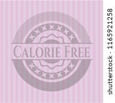 calorie free realistic pink... | Shutterstock .eps vector #1165921258