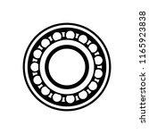 mechanical bearing  machine... | Shutterstock .eps vector #1165923838