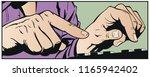 stock illustration. hands...   Shutterstock .eps vector #1165942402