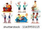 e book reader concept. vector.... | Shutterstock .eps vector #1165953115