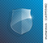 protect guard glass shield... | Shutterstock .eps vector #1165955482