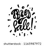 big sale lettering phrase....   Shutterstock .eps vector #1165987972