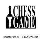 chess game pieces and text in...   Shutterstock .eps vector #1165998805