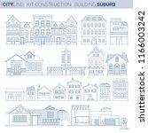 line art vol 9. original line... | Shutterstock .eps vector #1166003242