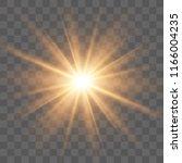 light flare special effect.... | Shutterstock .eps vector #1166004235