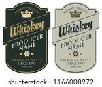 set of two vector labels for... | Shutterstock .eps vector #1166008972