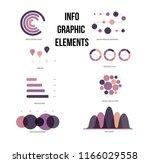 infographic elements  trendy... | Shutterstock .eps vector #1166029558