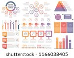 infographic elements   circle... | Shutterstock .eps vector #1166038405