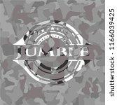 jumble grey camouflage emblem   Shutterstock .eps vector #1166039425