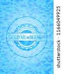 gold membership realistic light ... | Shutterstock .eps vector #1166049925